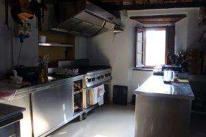 Casa Marchi cookery school kitchen