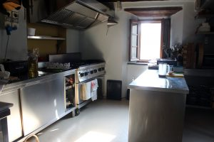 Casa Marchi cookery school kitchen