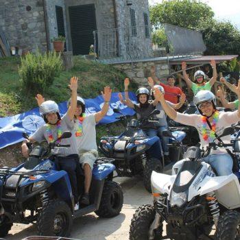 Quad biking with Quad Lucca