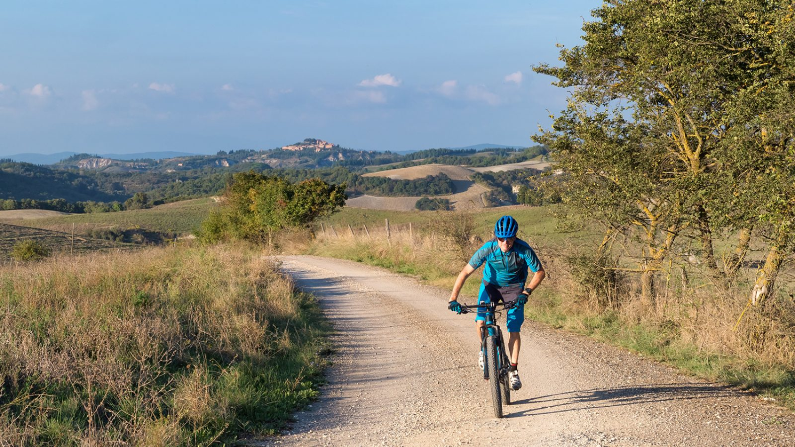 Off-road cycling holidays in Tuscany with Casa Marchi