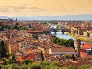 The city of Florence, Tuscany