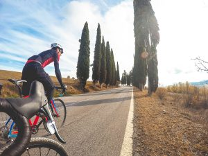Road cycling holidays in Tuscany with Casa Marchi